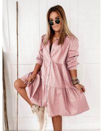 Šaty - kód 5557 - ružová