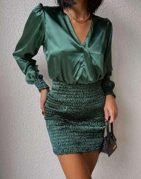 Šaty - kód 0395 - 1 - zelená