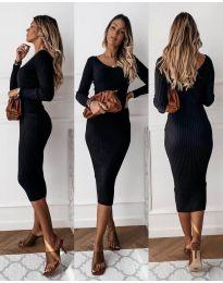 Šaty - kód 928 - čierná