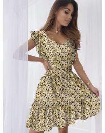 Šaty - kód 6088 - žltá