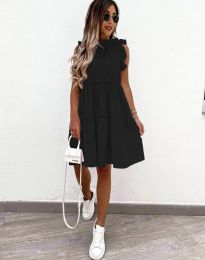 Šaty - kód 2663 - čierná