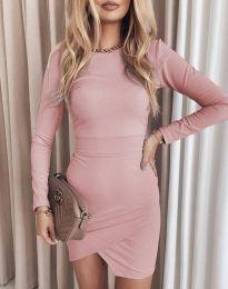 Šaty - kód 2835 - ružová