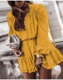 Šaty - kód 3231 - žltá