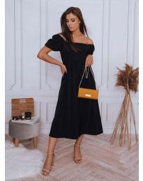 Šaty - kód 2117 - 2 - čierná