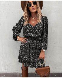 Šaty - kód 0366 - čierná