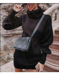 Šaty - kód 2884 - čierná