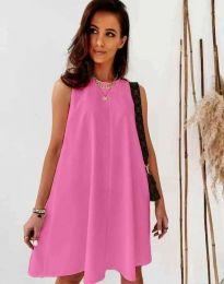 Šaty - kód 9862 - ružová