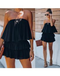 Šaty - kód 0489 - čierná