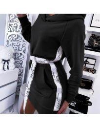 Šaty - kód 4483 - čierná