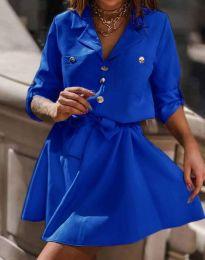 Šaty - kód 4950 - modrá