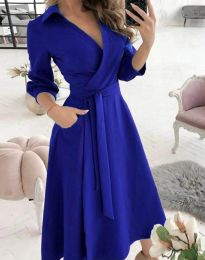 Šaty - kód 2861 - modrý