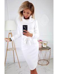 Šaty - kód 219 - biela