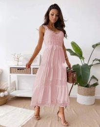 Šaty - kód 4672 - svetlo ružová