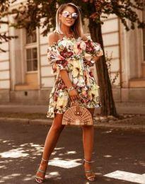 Šaty - kód 1402 - 2 - květinové