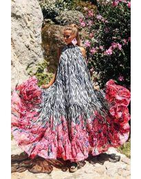 Šaty - kód 703 - viacfarebné
