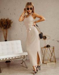 Šaty - kód 6166 - šampanské
