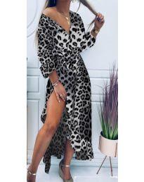 Šaty - kód 5454 - 4 - viacfarebné