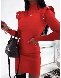 Šaty - kód 2323 - červená