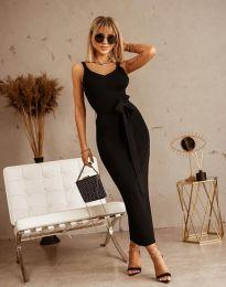 Šaty - kód 6166 - čierná