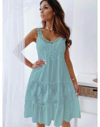 Šaty - kód 3232 - tyrkysová