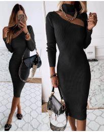 Šaty - kód 149 - čierná