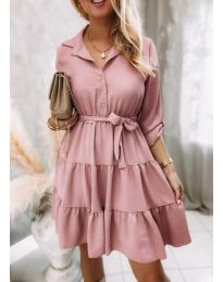 Šaty - kód 6970 - ružová
