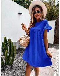 Šaty - kód 744 - modrá