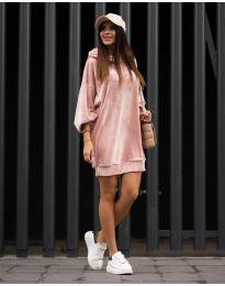 Šaty - kód 4547 - ružová