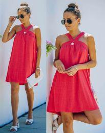 Šaty - kód 9103 - červená