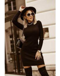 Šaty - kód 0608 - čierná