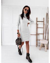 Šaty - kód 5696 - biela