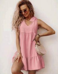 Šaty - kód 7206 - ružová
