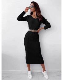 Šaty - kód 5878 - čierná