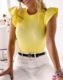 Tričko - kód 5955 - 1 - žltá