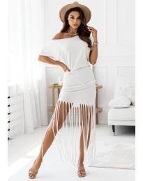 Šaty - kód 12003 - biela