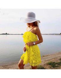 Šaty - kód 4849 - žltá