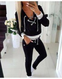 Športová súprava - kód 3093 - 1 - čierná
