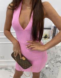 Šaty - kód 4668 - ružová
