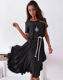 Šaty - kód 11893 - čierná
