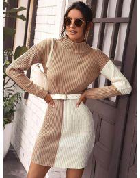 Šaty - kód 9935 - 4 - viacfarebné