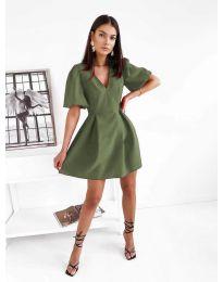 Šaty - kód 0807 olivovo zelená