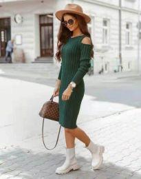 Šaty - kód 8203 - zelená