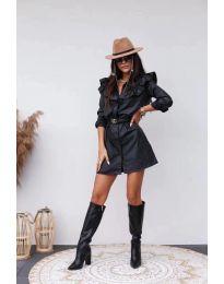Šaty - kód 3008 - 1 - čierná