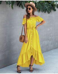 Šaty - kód 564 - žltá