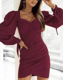 Šaty - kód 0363 - bordeaux