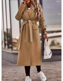 Kabát - kód 7989 - hnedá