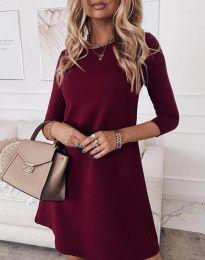 Šaty - kód 8201 - bordeaux