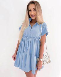 Šaty - kód 8889 - svetlo modrá