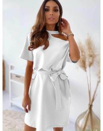 Šaty - kód 0006 - biela