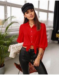 Košeľa - kód 7482 - červená